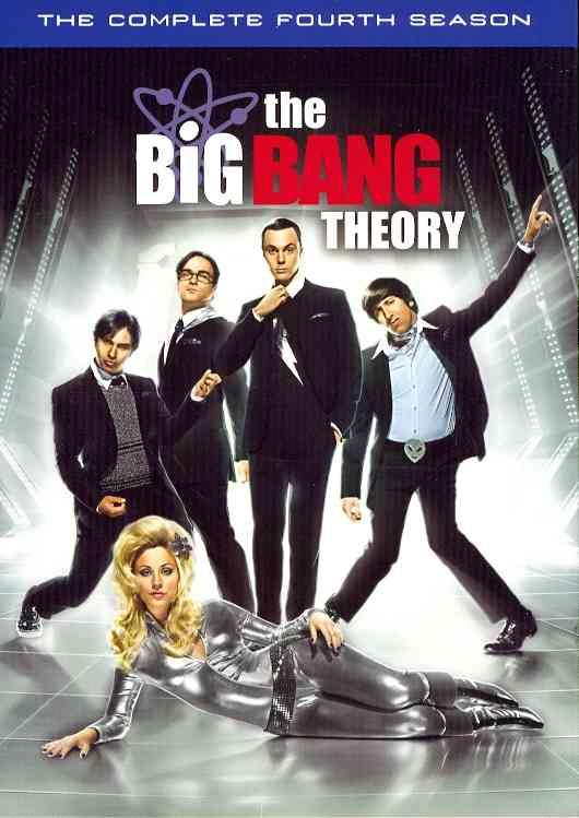 BIG BANG THEORY:COMPLETE FOURTH SSN BY BIG BANG THEORY (DVD)
